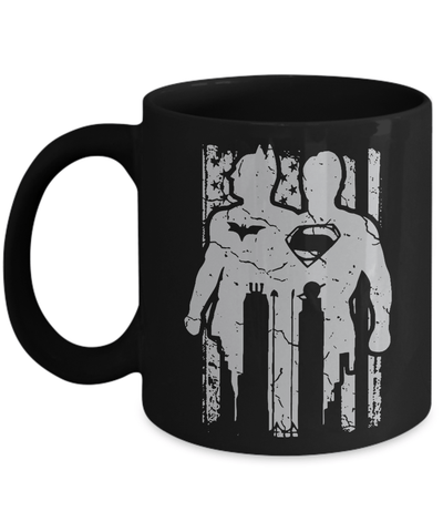 Gearbubble Coffee Mug 11oz Mug / Black Batman Vs Superman Mug