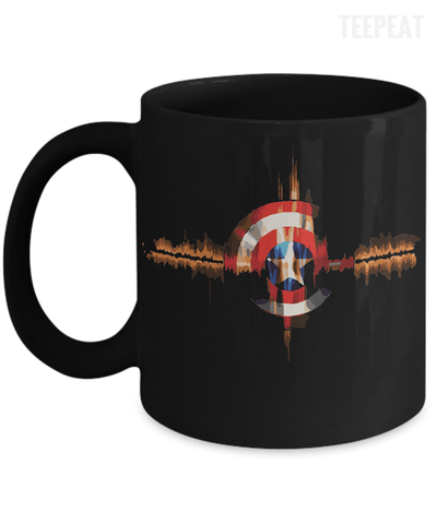 Gearbubble Coffee Mug 11oz Mug / Black Captain Pulse Mug