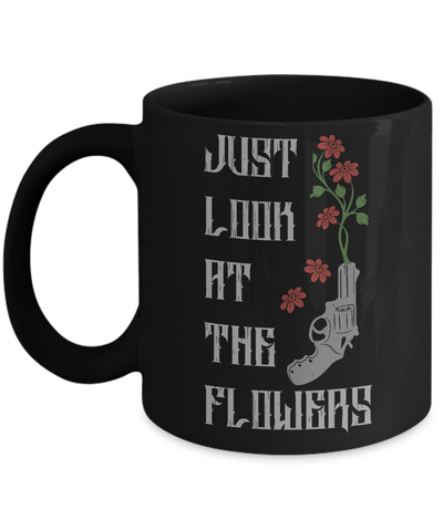 Gearbubble Coffee Mug 11oz Mug / Black Carol Flowers Mug