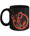 Gearbubble Coffee Mug 11oz Mug / Black Deadpool Boy Mug