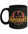 Gearbubble Coffee Mug 11oz Mug / Black Deadpool Mercenary Mug