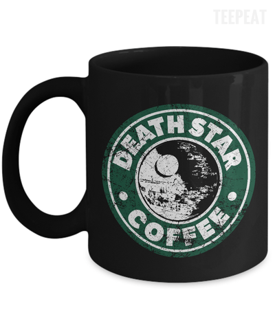 Gearbubble Coffee Mug 11oz Mug / Black Death Star Coffee Mug