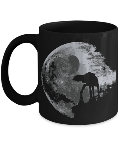 Gearbubble Coffee Mug 11oz Mug / Black Death Star Mug