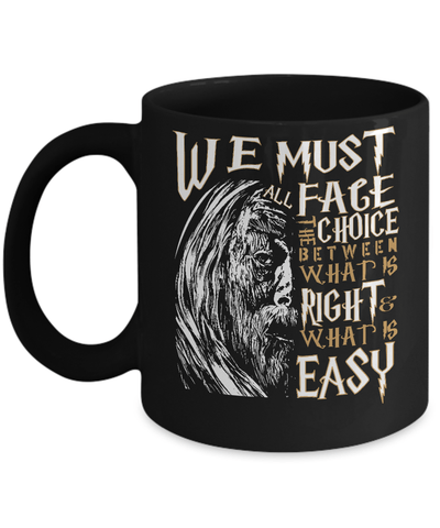 Gearbubble Coffee Mug 11oz Mug / Black Dumbledore Mug