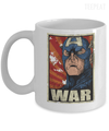 Gearbubble Coffee Mug 11oz Mug / White Captain War White Mug