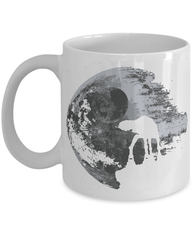 Gearbubble Coffee Mug 11oz Mug / White Death Star Mug