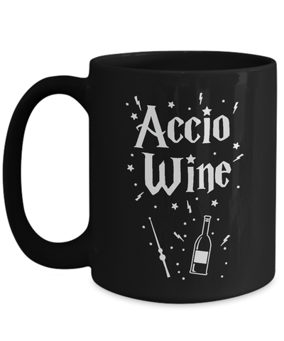 Gearbubble Coffee Mug 15oz Mug / Black Accio Wine Mug