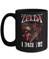 Gearbubble Coffee Mug 15oz Mug / Black Call Me Zelda I Dare You Mug