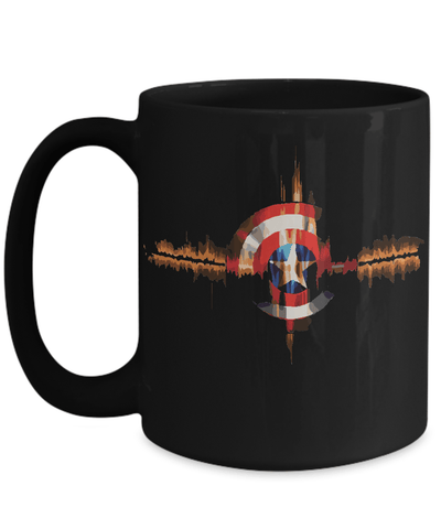 Gearbubble Coffee Mug 15oz Mug / Black Captain Pulse Mug