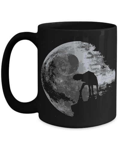 Gearbubble Coffee Mug 15oz Mug / Black Death Star Mug
