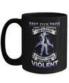 Gearbubble Coffee Mug 15oz Mug / Black Dont Ever Think Naruto Mug