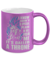 Gearbubble Coffee Mug A Throne Metallic Mug