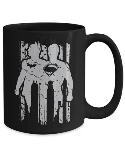 Gearbubble Coffee Mug Batman Vs Superman Mug