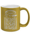 Gearbubble Coffee Mug Brotherhood Metallic Mug