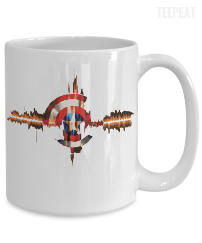 Gearbubble Coffee Mug Captain Pulse Mug