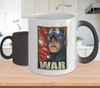 Gearbubble Coffee Mug Captain War Color Changing Mug