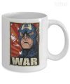 Gearbubble Coffee Mug Captain War White Mug