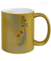 Gearbubble Coffee Mug Carol Flowers Metallic Mug