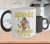Gearbubble Coffee Mug Color Changing Mug / White Aquaman Swimming Team Color Changing Mug