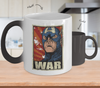 Gearbubble Coffee Mug Color Changing Mug / White Captain War Color Changing Mug