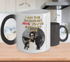 Gearbubble Coffee Mug Color Changing Mug / White Daringest Devil Color Changing Mug