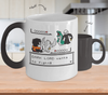 Gearbubble Coffee Mug Color Changing Mug / White Dark Lord Wants To Fight Color Changing Mug