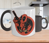 Gearbubble Coffee Mug Color Changing Mug / White Deadpool Boy Color Changing Mug