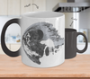 Gearbubble Coffee Mug Color Changing Mug / White Death Star Color Changing Mug