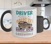 Gearbubble Coffee Mug Color Changing Mug / White Driver Picks the Music Color Changing Mug
