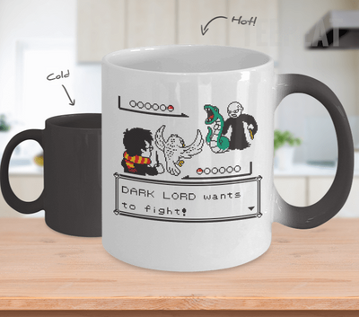 Gearbubble Coffee Mug Dark Lord Wants To Fight Color Changing Mug