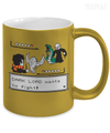 Gearbubble Coffee Mug Dark Lord Wants To Fight Metallic Mug