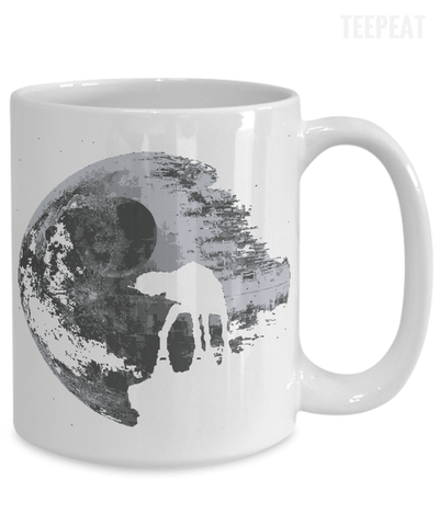 Gearbubble Coffee Mug Death Star Mug