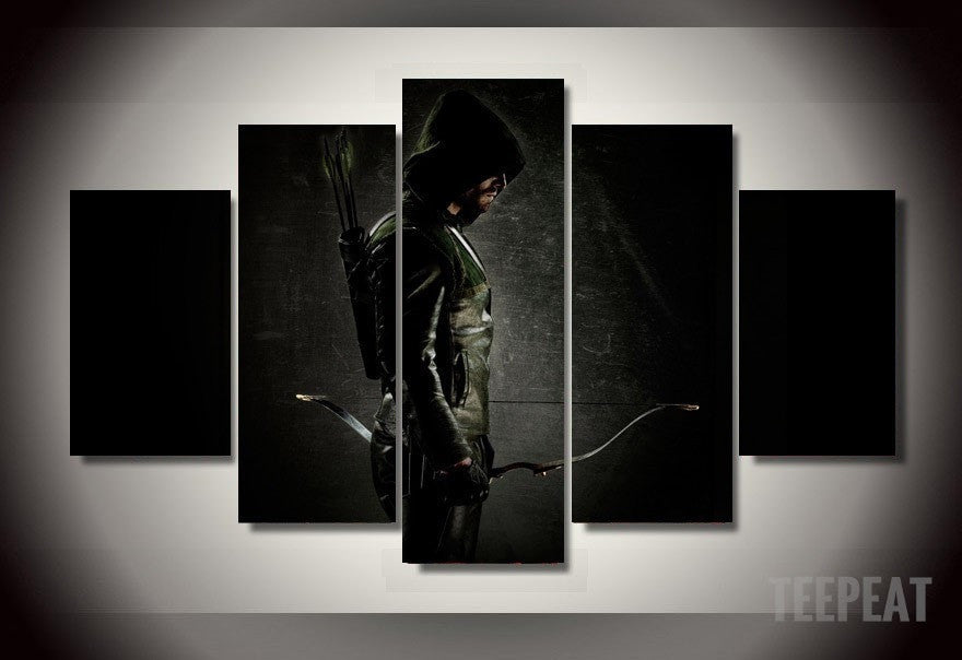Oliver Queen - 5 Piece Canvas LIMITED EDITION - The Nerd Cave