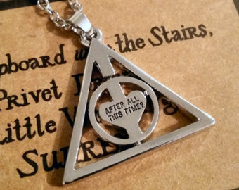 Harry Potter After all this Time Necklace