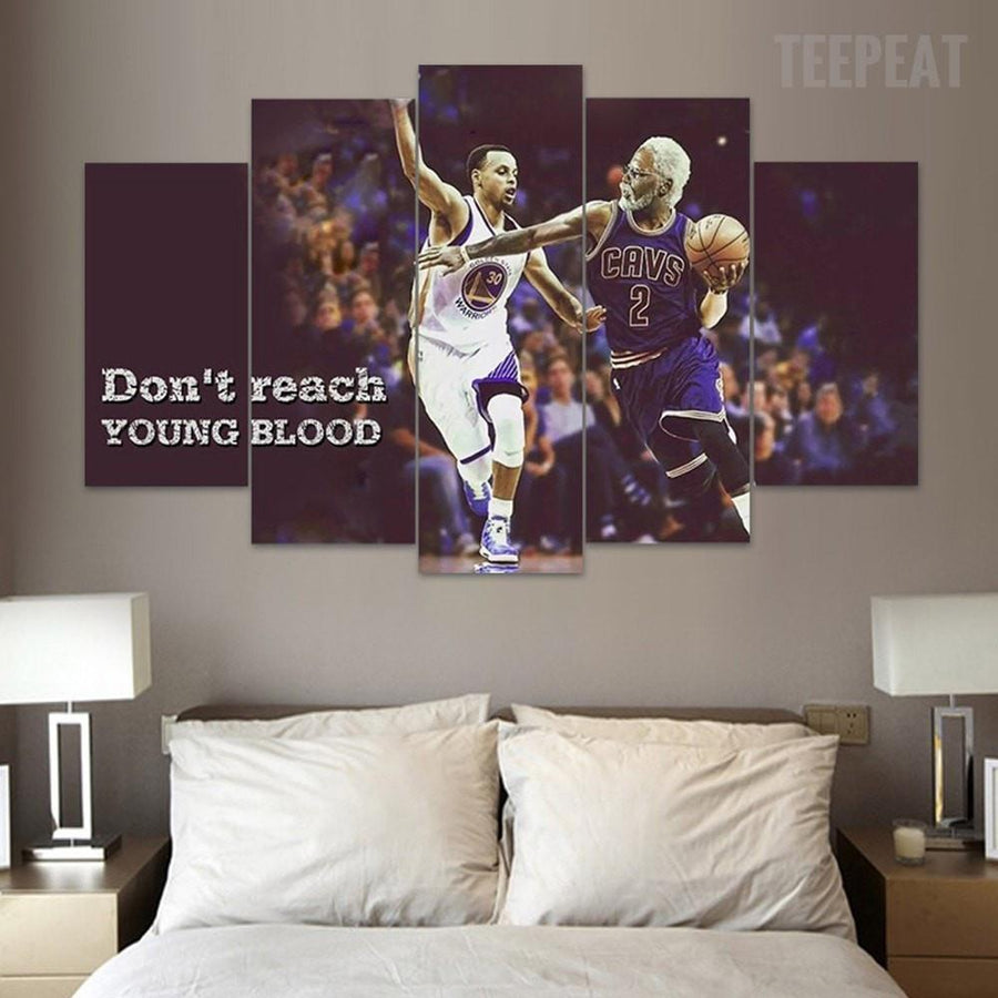 Don't Reach Young Blood - 5 Piece Canvas Painting
