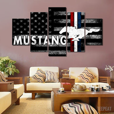 Ford Painting - 5 Piece Canvas-Canvas-TEEPEAT