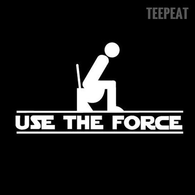 Use The Force Wall Sticker