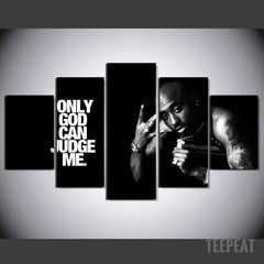 Limited Edition - Tupac - ONLY GOD CAN JUDGE ME
