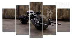The Batcycle Painting - 5 Piece Canvas