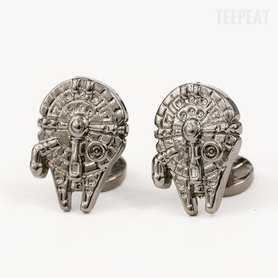 Millenium Falcon Cuff Links-TEEPEAT