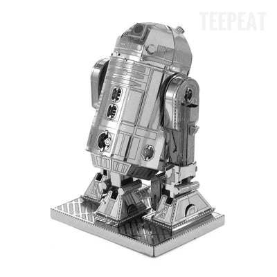 R2D2 DIY 3D Metal Model Kit-TEEPEAT