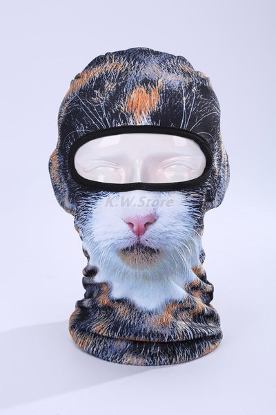 Novelty 3D Cat Headgear-TEEPEAT