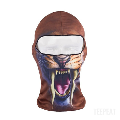 New Limited Edition 3D Sabertooth Headgear-TEEPEAT