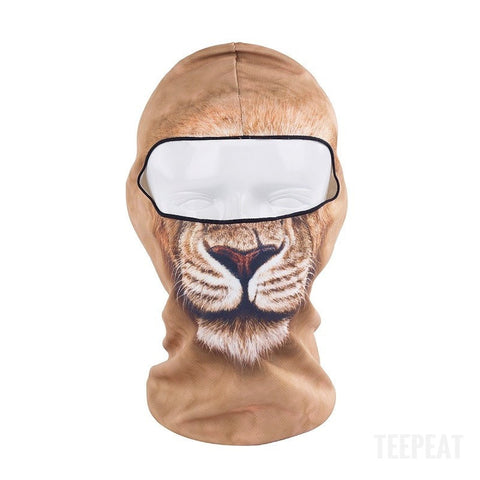 New Limited Edition 3D Lion Headgear-TEEPEAT