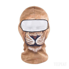 New Limited Edition 3D Lion Headgear