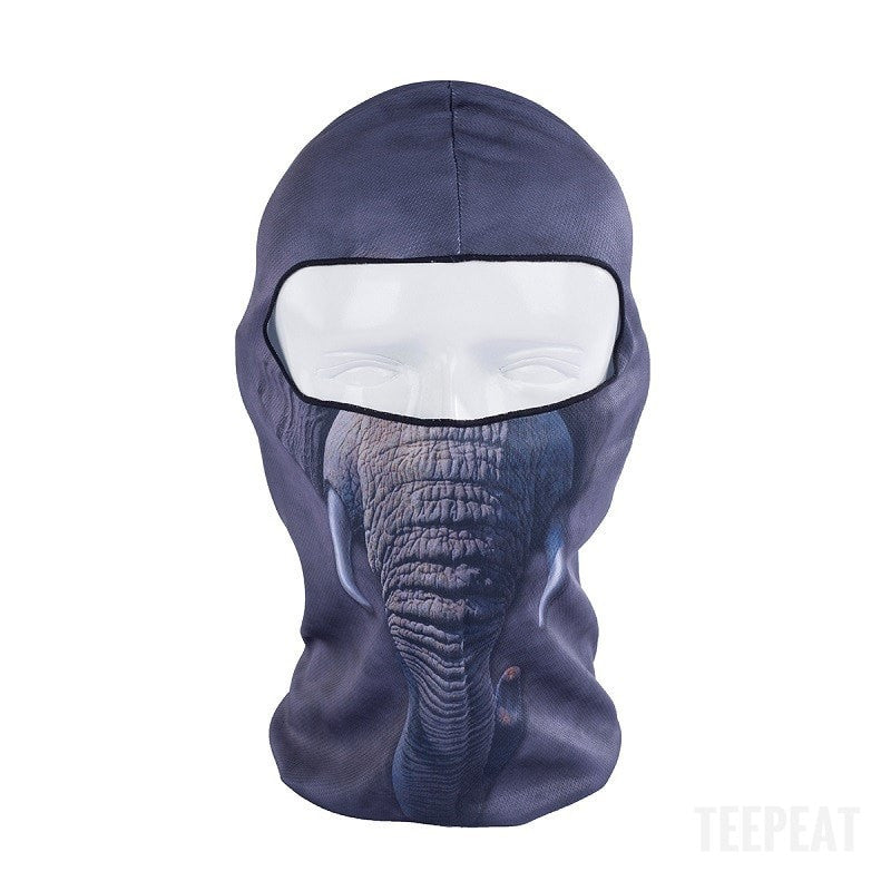 New Limited Edition 3D Elephant Headgear-TEEPEAT