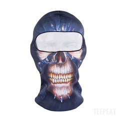 New Limited Edition 3D Skull V2 Headgear