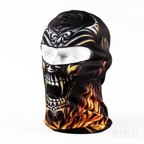 New Limited Edition 3D Skull Headgear-TEEPEAT