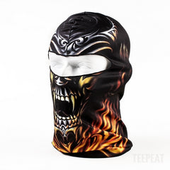 New Limited Edition 3D Skull Headgear