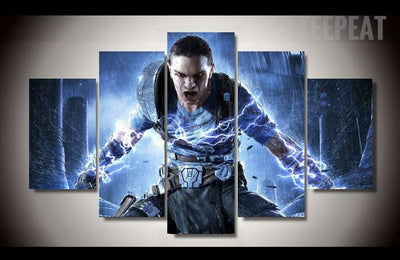 Star Wars: The Force Unleashed Painting - 5 Piece Canvas-Canvas-TEEPEAT